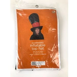 Halloween Costume Inflatable Top Hat One Size Fits